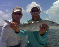 Islamorada backcountry fishing,  Fish for Bonefish